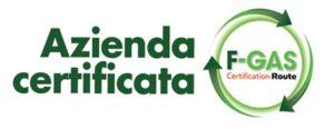 Certificazione F-GAS logo